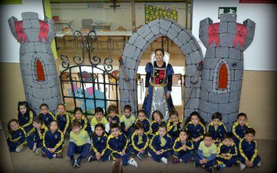 PROYECTO DE 5 AÑOS» RODAJE EN EL CASTILLO»