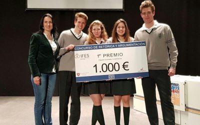 El Liceo gana el Concurso de Comunicación Oral de Andalucía