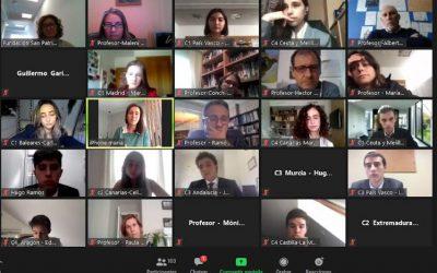 Dos alumnos de 1º Bachillerato participan en la X Sesión Nacional del MEP
